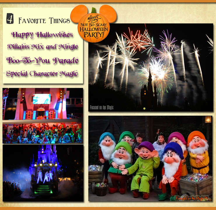 4 Favorite Things at Mickey's Not-So-Scary Halloween Party