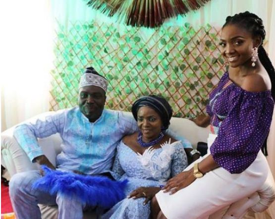 Photos From The Wedding Of Simi's 60-Year-Old Mum