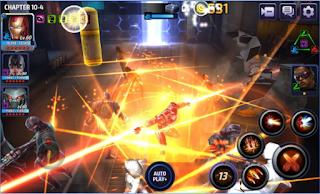 Marvel Future Fight Mod Apk skill no couldown