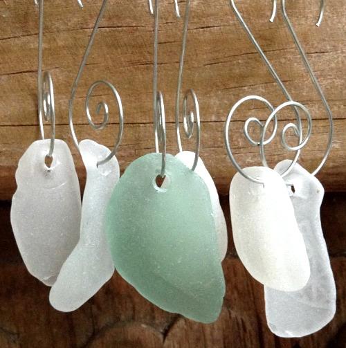Seaglass Ornaments