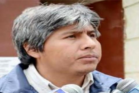 El excandidato a la Gobernación de Oruro por el Movimiento Al Socialismo