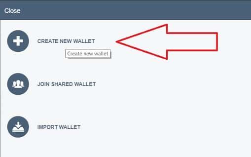 Crear Nuevo Monedero New Wallet Neblio NEBL