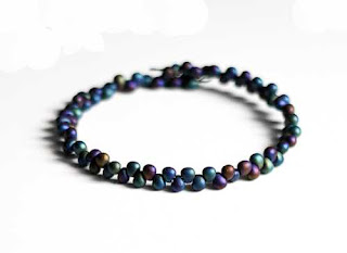 Rainbow Teardrop Shape Beaded Bracelet