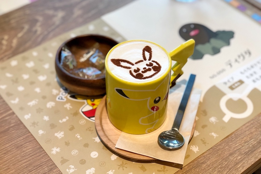 Pokemon Cafe Pikachu Kaffee
