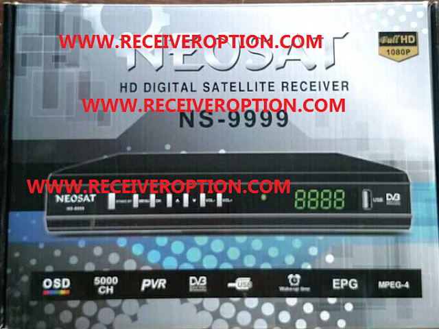 NEOSAT NS-9999 HD RECEIVER POWERVU KEY NEW SOFTWARE