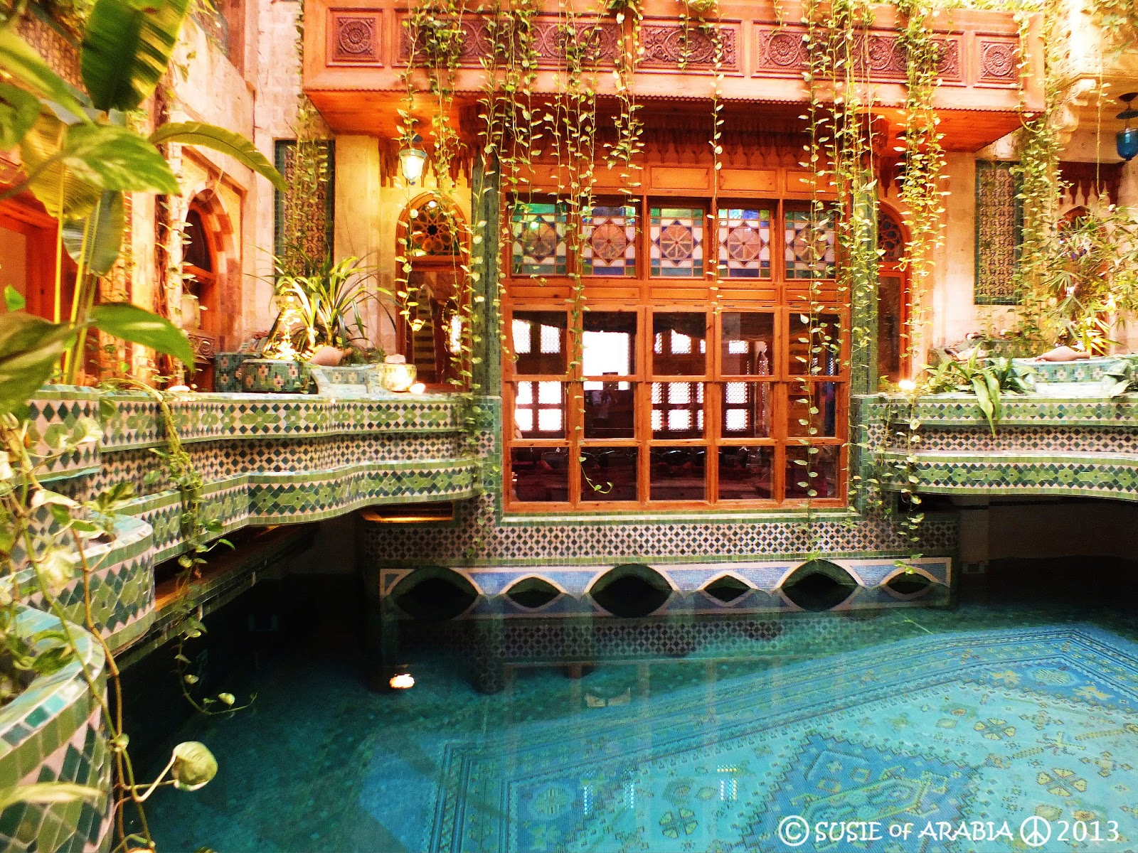 Jeddah Daily Photo: Jeddah: Angawi House Indoor Pool