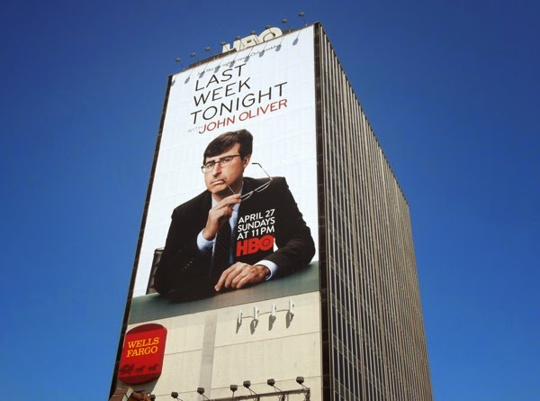 Giant Last Week Tonight John Oliver HBO billboard
