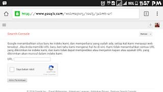 Cara agar blog atau situs masuk pencarian Mbah Google