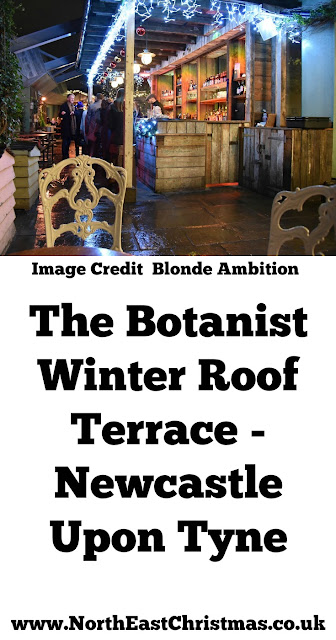 Enjoy Spiced Cider, Mulled Wine & Slow Gin on the Roof Terrace at the Botanist Newcastle