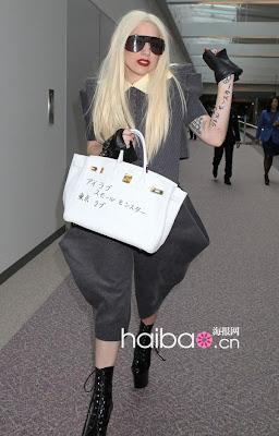 025f5e0363f1 Fashion idol Olivia Palermo also has light brown hermes birkin! Lady Gaga  ...