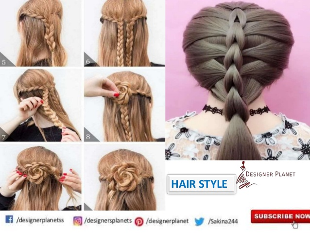 Stylish & Fashionable Step by Step Hairstyle Tutorials Designerplanet