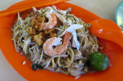 Serangoon Gardens Fried Prawn Noodle, Redhill Food Centre