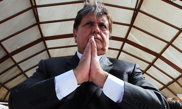 Alan García asustado por declaraciones el Brasil