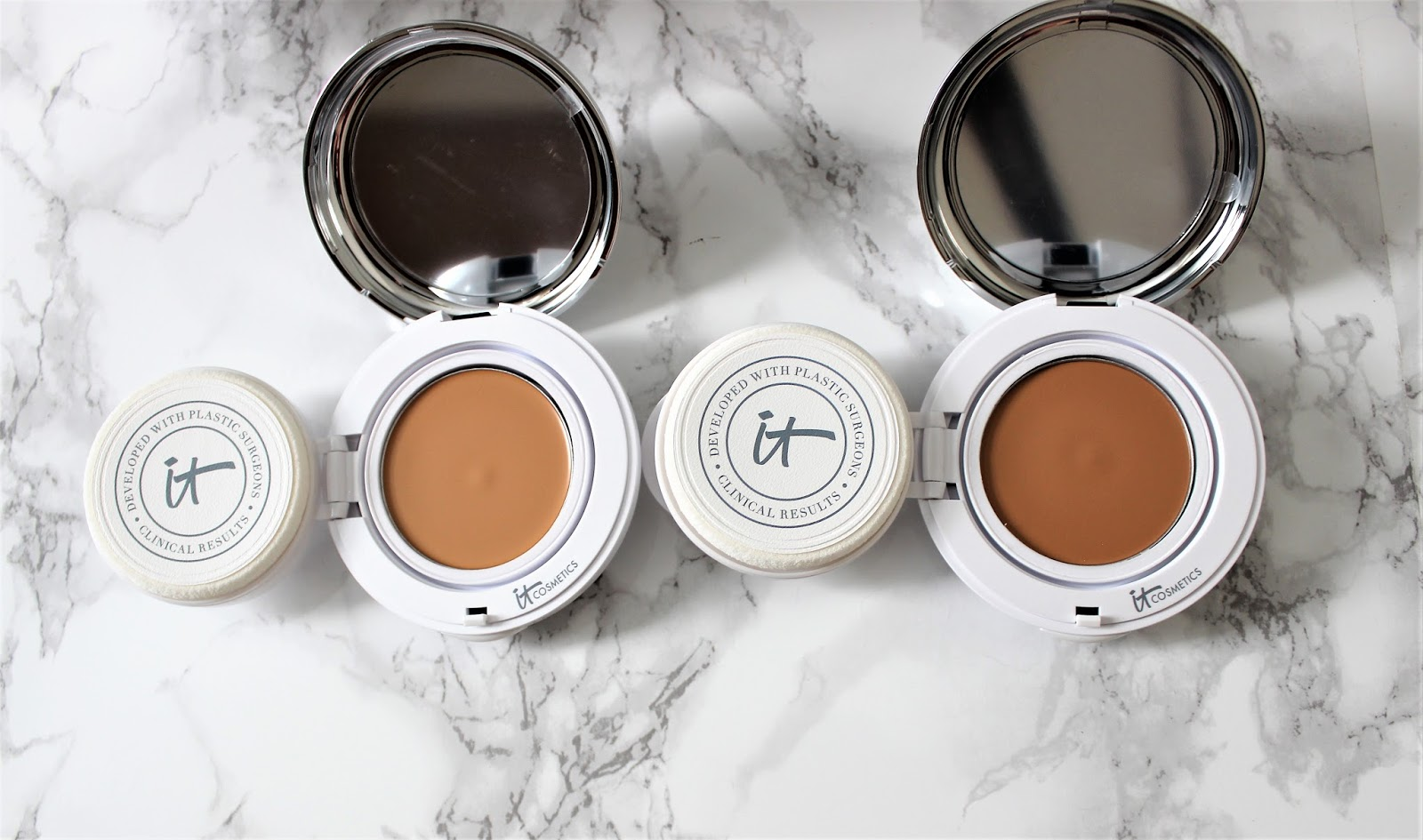 It Cosmetics Confidence in a Compact Serum Foundation