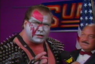 WWF / WWE Summerslam 1989 - Demolition Ax talks about going back to basics to prepare for a six man tag against Andre The Giant and The Twin Towers
