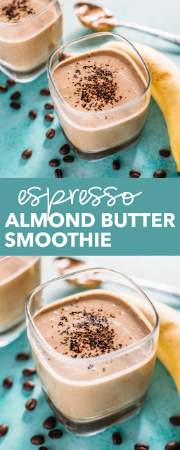 ESPRESSO ALMOND BUTTER SMOOTHIE