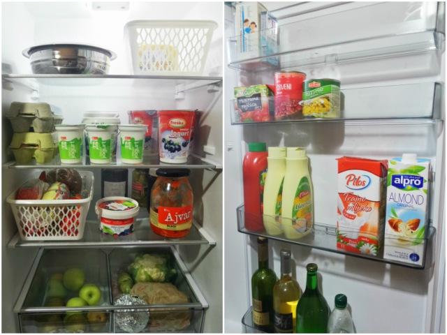 Hladnjak poslije organiziranja