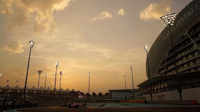 Jadwal Lengkap F1 GP Abu Dhabi 2017, 24-26 November