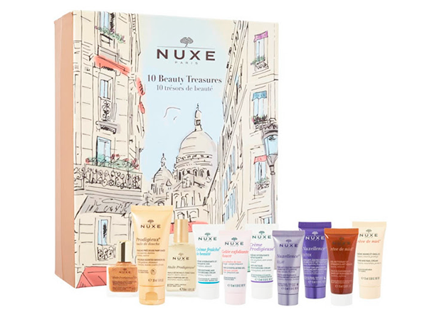 10 Beauty Treasures de Nuxe