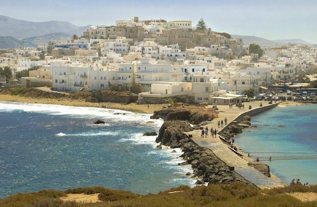 O que fazer na ilha de Naxos, Grécia