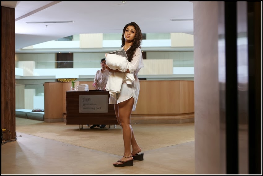 Nayanthara hot photo gallery from aarambam movie