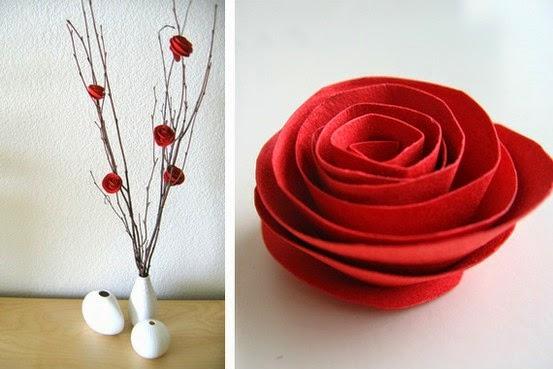 Cara Membuat Kerajinan Tangan Mawar Hias dari kertas bekas