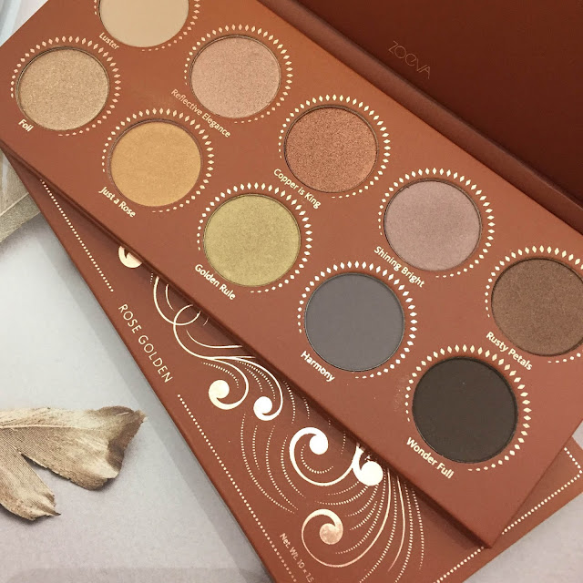 zoeva rose golden palette review keeping up with kirby