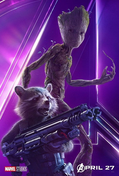 Avengers: Infinity War Groot & Rocket Raccoon