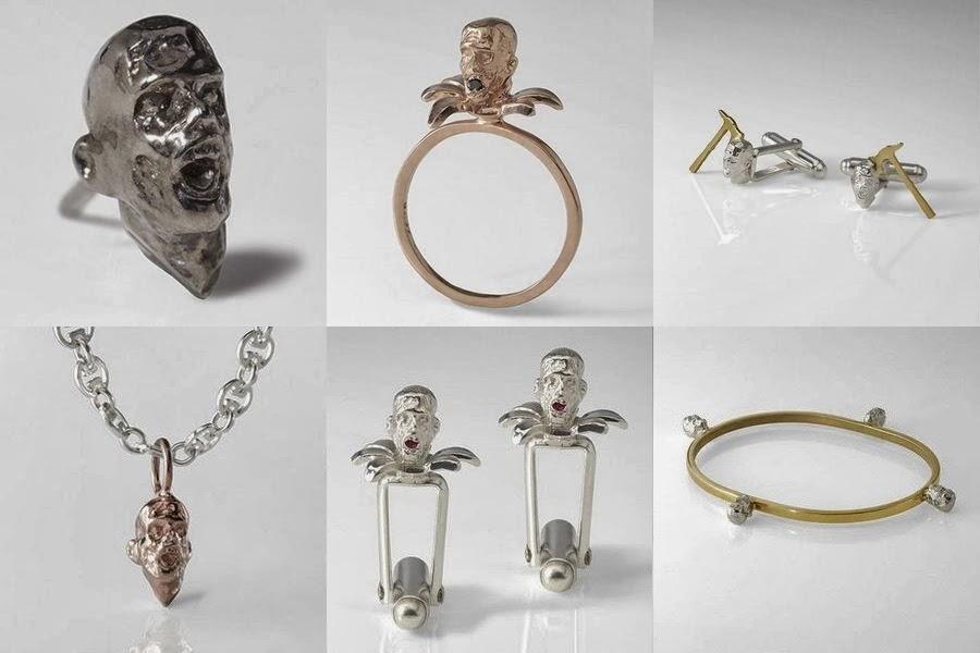 Slight Jewelery - Brains collection