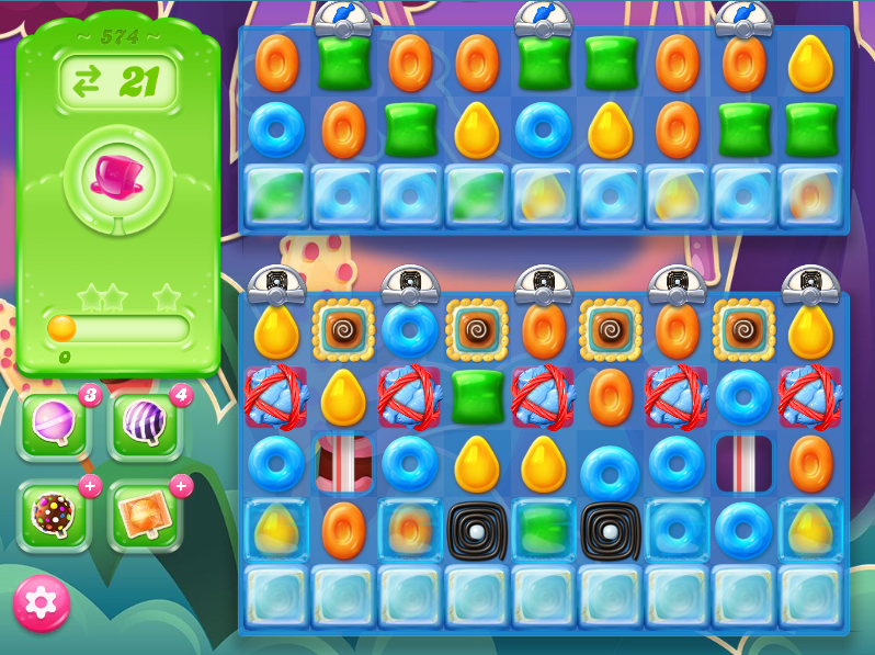 Candy Crush Jelly Saga level 574
