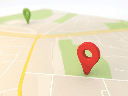 Use o Google Maps como GPS
