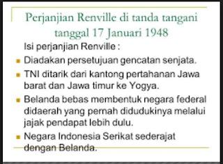 Isi Perjanjian Renville