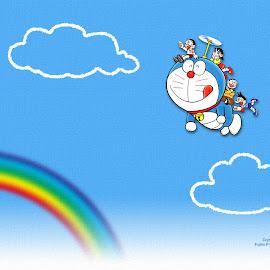 Kumpulan Wallpaper Keren Tema Doraemon Hd Terbaru 2016