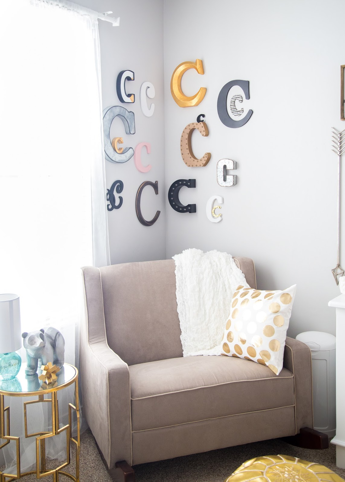 Rocking Chair, Nursery, Baby Girl Nursery, Girl Nursery Ideas