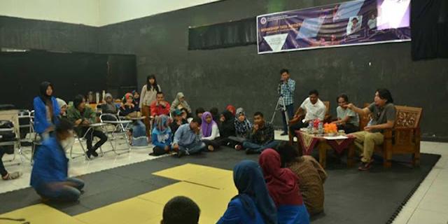 Suasana Workshop Artistik di ISI Padangpanjang. (Dok. Istimewa)