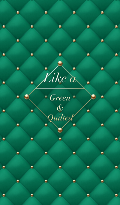 Like a - Green & Quilted #Noel