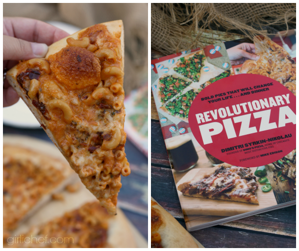 Smack 'n Cheese Pizza for the Revolutionary Pizza blog tour via