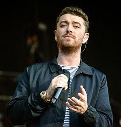 """.Sam Smith...Samuel Frederick """"Sam"""" Smith (Primrose Hill, Londres, 19 de maio de 1992) é um cantor e compositor britânico."""