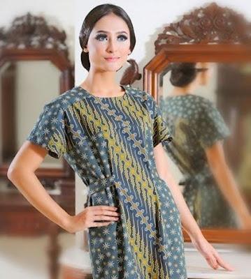 Model baju batik keris untuk sehari-hari