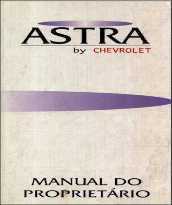 Manual do proprietário Chevrolet Astra 95