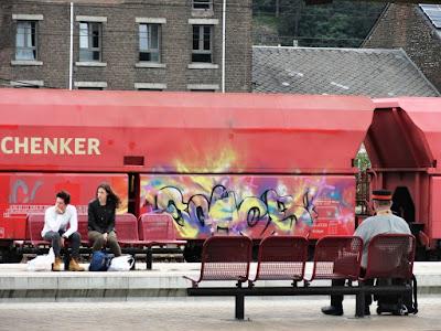 db schenker tags et graffitis