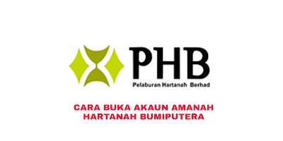 Cara Buka Akaun Amanah Hartanah Bumiputera (AHB) 2019