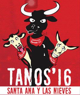 Fiestas de Santa Ana y Las Nieves 2016 en Tanos