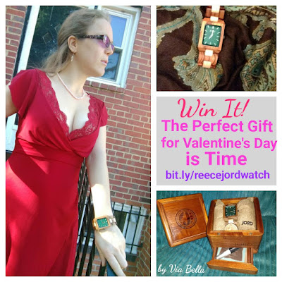 women's watch, men's watch, unique watch, cool watch, enter to win, giveaway, sweepstakes, coupon code, wood watch, life style, fashion, fun, Via Bella, JORD, JORD watches, Valentine's gift, winter style, valentine's gifts for her, valentine's gifts for him, Reece Zebrawood Jord Watch, wood watches, all natural, made in the USA, St Louis Mo, birthday present, watches, Swiss Time Piece, Gift Card