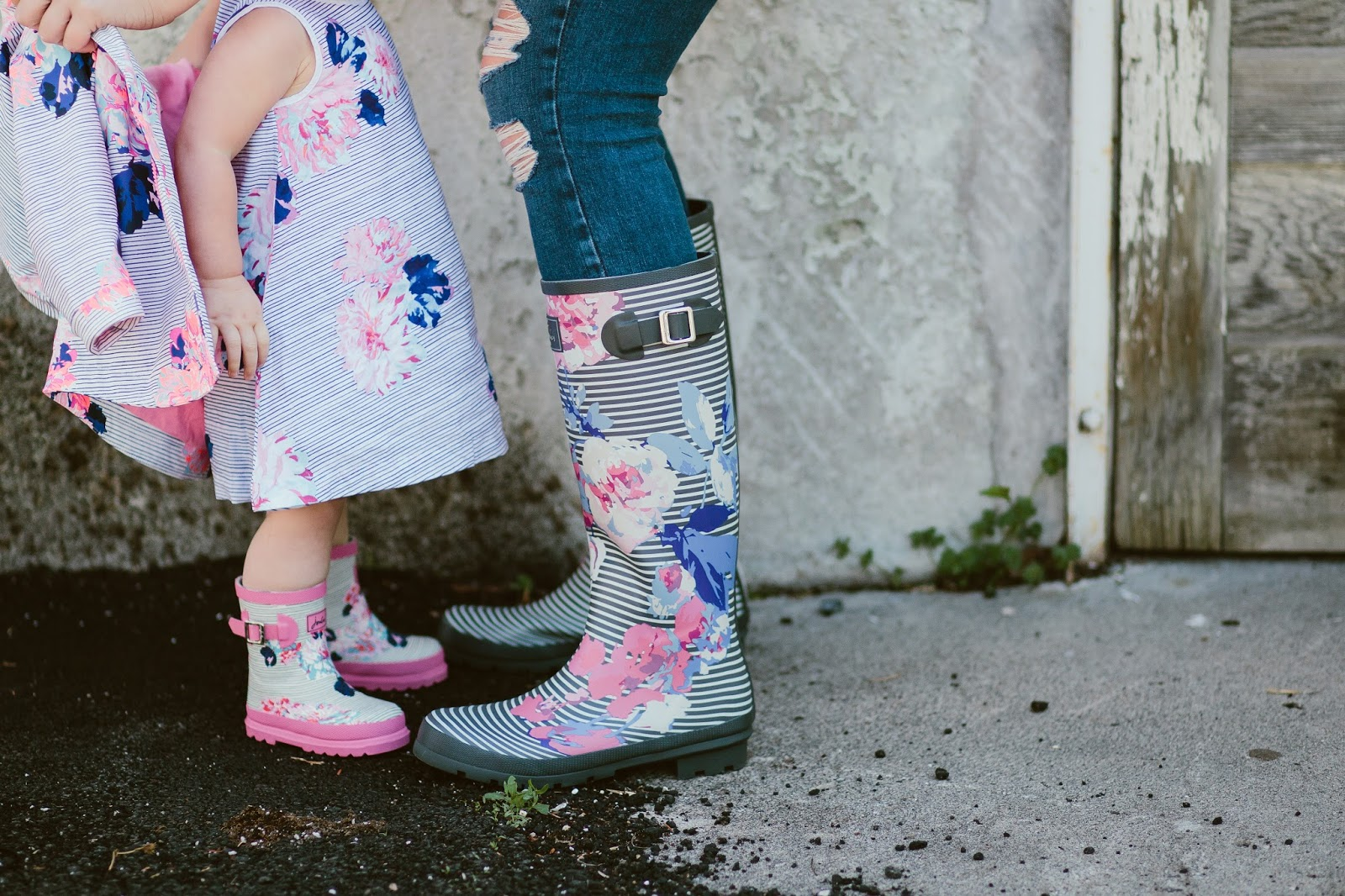 Mommy and Me Rain Boots, Rain Boots, Utah Fashion Blogger