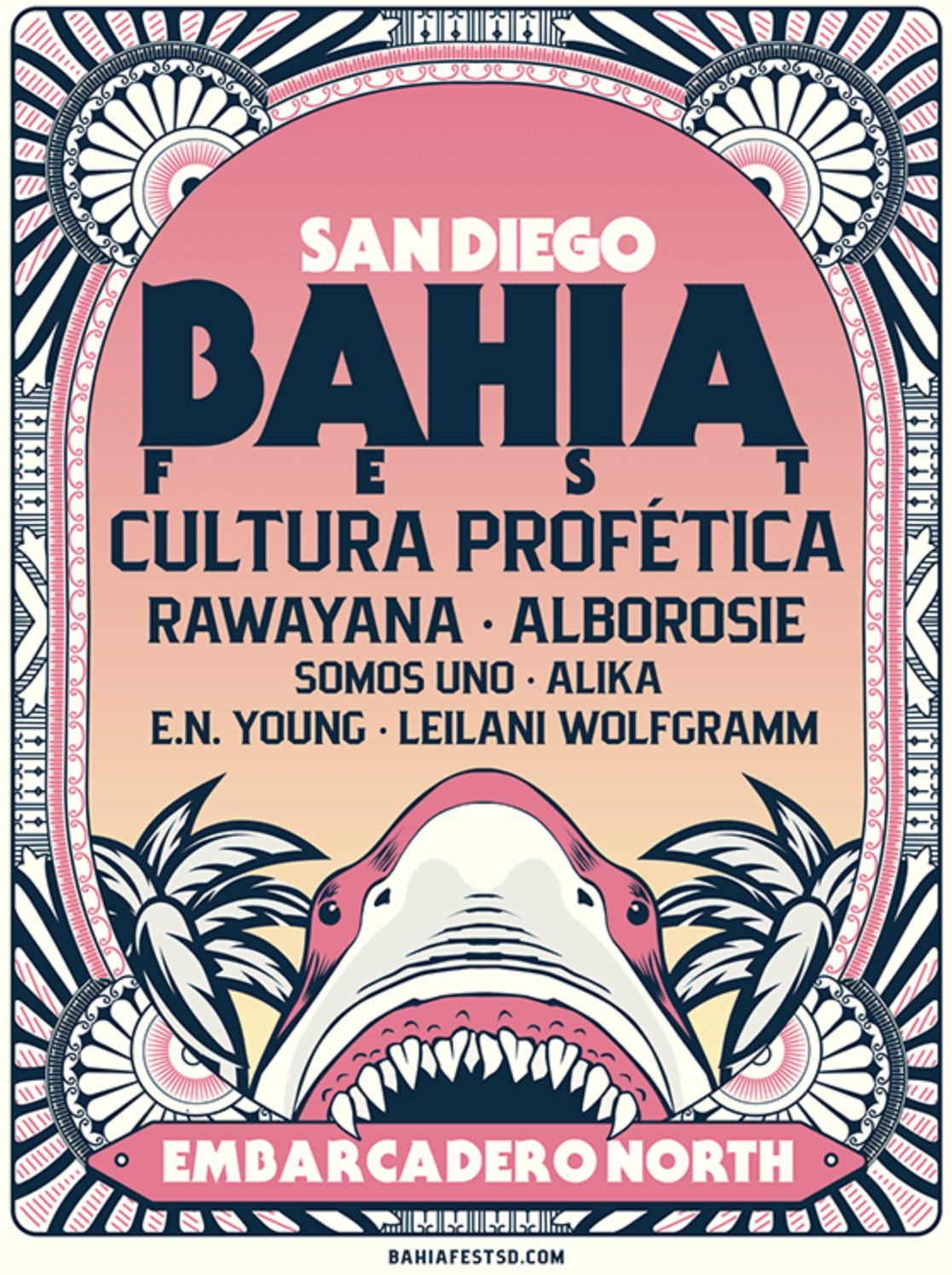 Use promo code SDVILLE to save $15 per ticket to the San Diego Bahia Fest on Saturday, October 19!