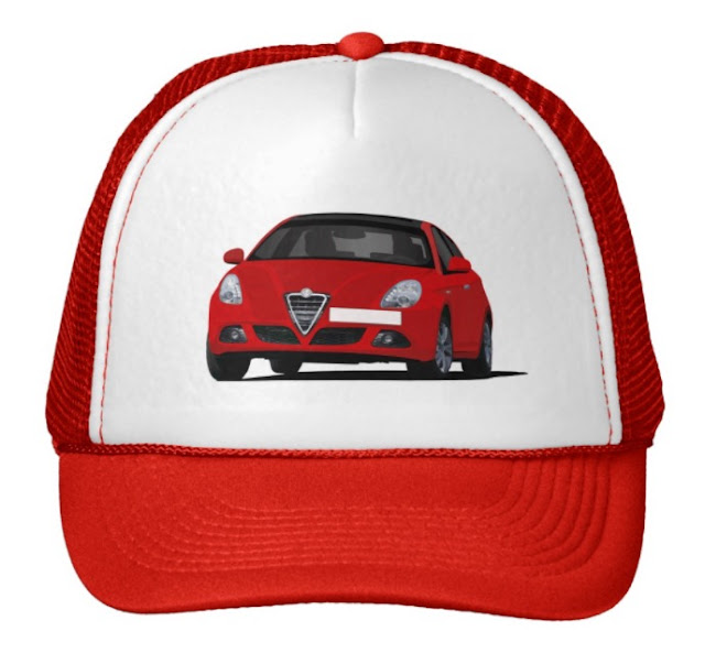 Alfa Romeo Giuletta cap in zazzle