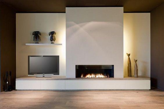 Arredamento e dintorni camini moderni - Caminetti moderni a parete ...