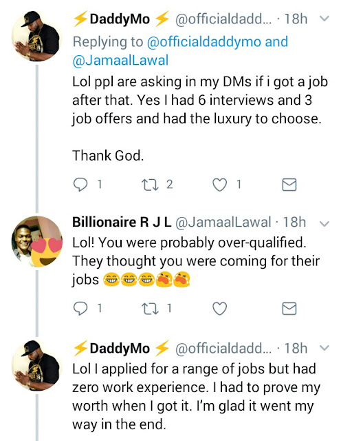 Twitter user with a PHD says he had to apply 110 times before he got a job