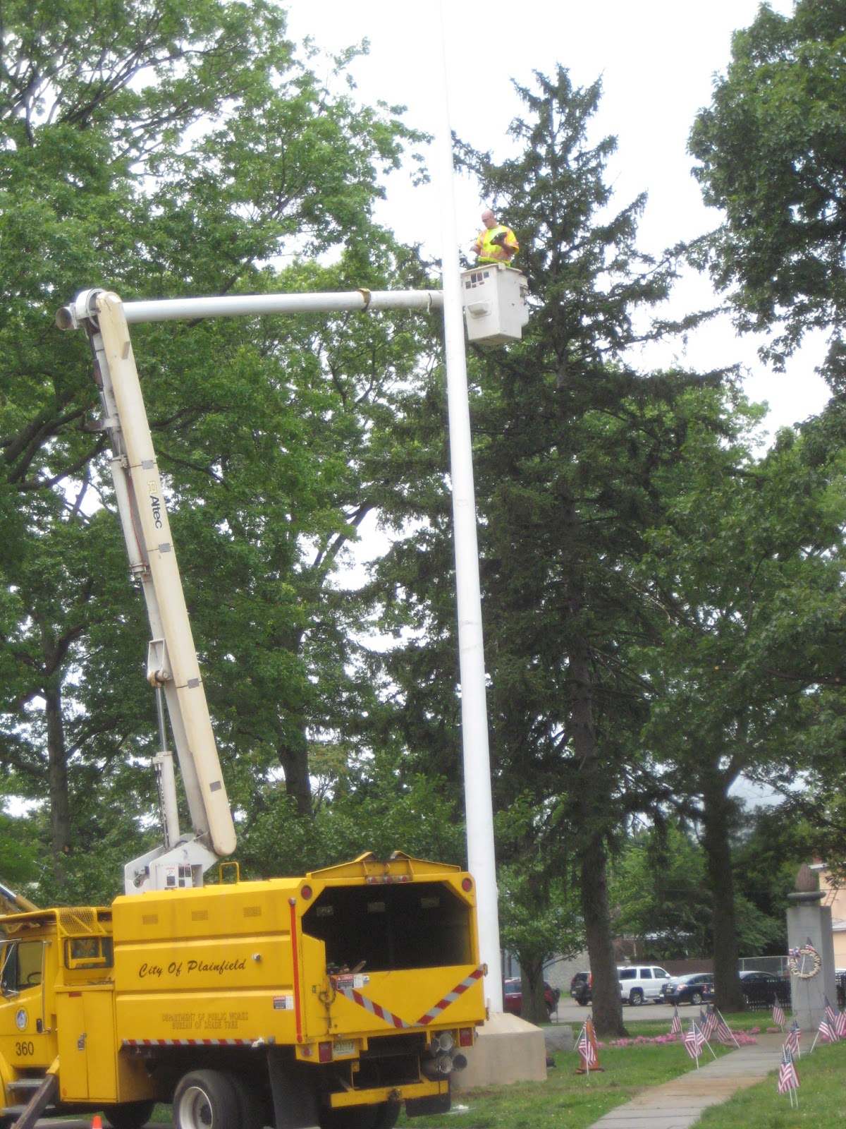 Plaintalker II: Flagpole Readied for Flag Day